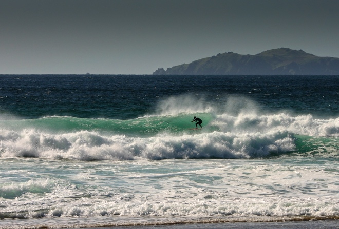 surfing wild atlantic